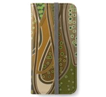 Under the river where the strange shapes shift and turn - Anne Winkler iPhone Wallet/Case/Skin