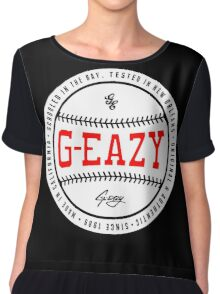 G Baseball Chiffon Top