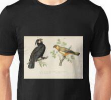 Bilder atlas zur Wissenschaftlich populären Naturgeschichte der Vögel in ihren sämmtlichen Hauptformen Leopold Joseph Fitzinger 1864 006 Unisex T-Shirt