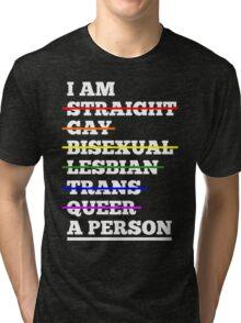 I'm A Person LGBT Pride Parade  Tri-blend T-Shirt
