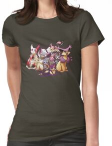 Pile of Cats Womens Fitted T-Shirt