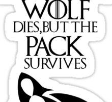 Dire Wolf - Ghost Sticker