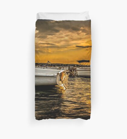 Sicilian Sunset Duvet Cover