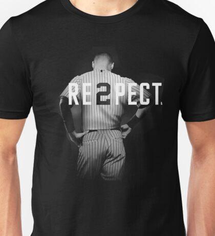 Respect Derek Jeter Re2pect Unisex T-Shirt