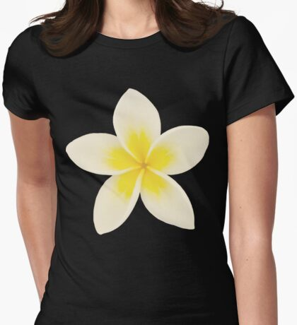Frangipani Womens Fitted T-Shirt