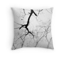 Winter Woods - Winter Series Throw Pillow