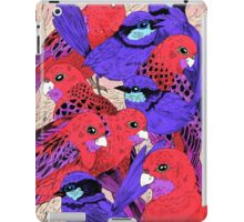 Wrens and Rosellas Delight! iPad Case/Skin