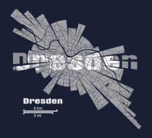 Dresden Map Kids Tee