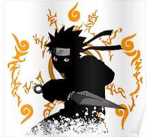 black ninja Poster