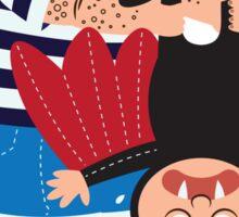 Bahman & Supman Sticker