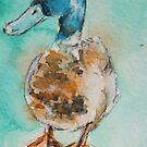 Norfolk Island duck by christine purtle