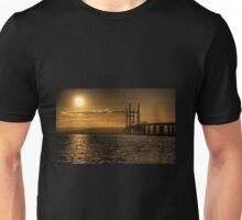 Severn Bridge Sunset Unisex T-Shirt