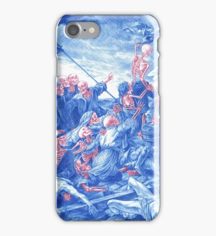 The Raft of the Medusa iPhone Case/Skin