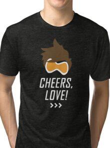 Cheers, Love! Tri-blend T-Shirt