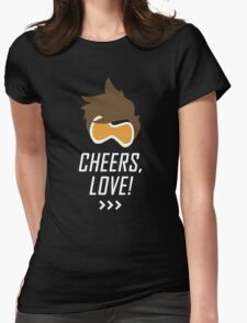 Cheers, Love! Womens Fitted T-Shirt