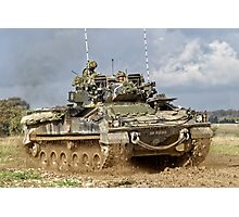 British Army Warrior Infantry Fighting Vehicle Photographic Print