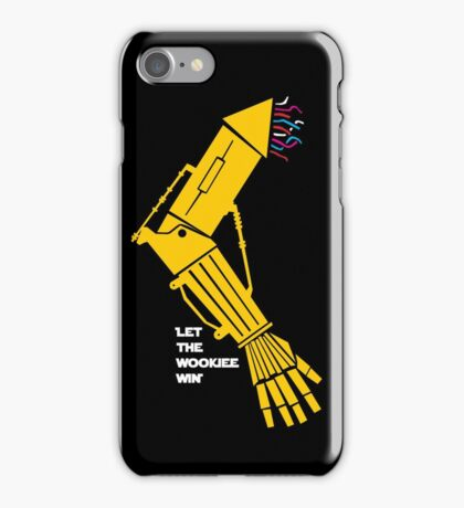 Let the Wookiee win! iPhone Case/Skin