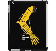 Let the Wookiee win! iPad Case/Skin