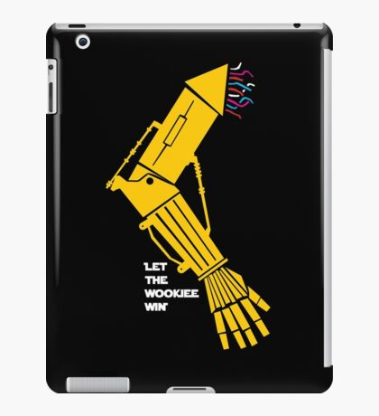 Let the Wookiee win! iPad Case/Skin