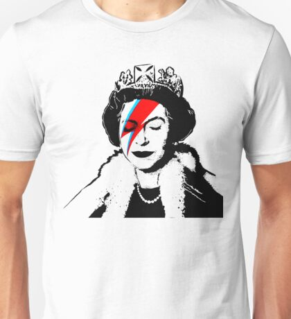 Ziggy Stardust Queen (David Bowie) Unisex T-Shirt