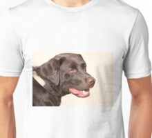 CHOCOLATE LABRADOR Unisex T-Shirt