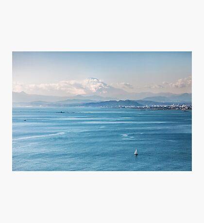 Bayside view of Tokyo Japan Photographic Print