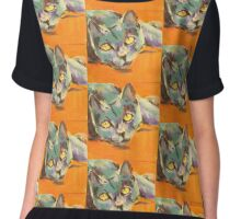 Aristo-cat Chiffon Top
