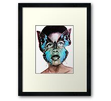The Princess of Cameroon Framed Print