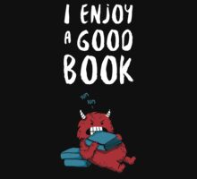 I Enjoy a Good Book Kids Tee