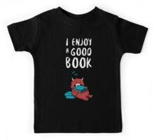 I Enjoy a Good Book Kids Tee