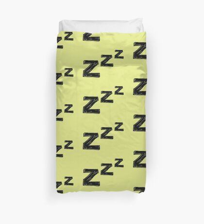 ZZZ Sleep Duvet Cover