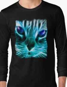 Lightining Cat Long Sleeve T-Shirt