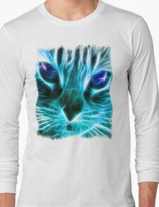 Lightining Cat Long Sleeve T-Shirt
