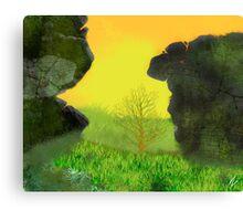 Childrens Storybook Canvas Print