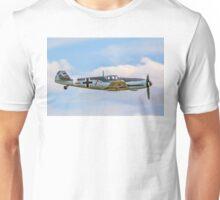 Messerschmitt Bf109G-4 D-FWME Rote Sieben Unisex T-Shirt