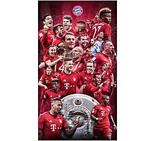 FC Bayern Munich (T-shirt, Phone Case & more) Photographic Print