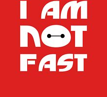 Baymax I Am Not Fast T Shirt Womens Fitted T-Shirt