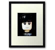 The Goth Girl is here Framed Print