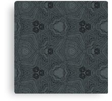 Whimsical monochrome pattern Canvas Print