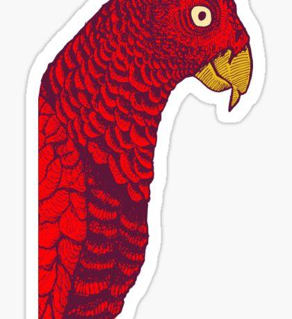 The Red Bird Sticker