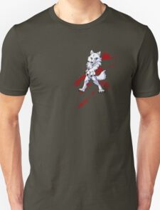 Cute anthro white wolf Unisex T-Shirt