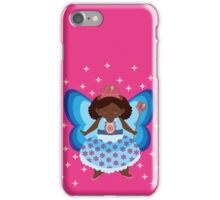 The Blue/Pink Fairy iPhone Case/Skin