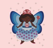 The Blue/Pink Fairy Kids Tee