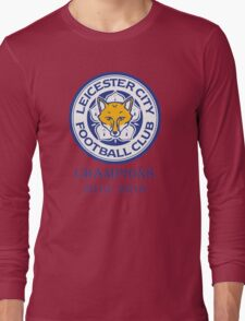 Blue Foxes  Long Sleeve T-Shirt