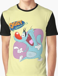 Character oggy Graphic T-Shirt