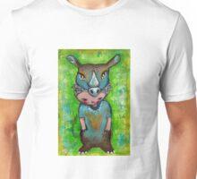 Swamp Rhino - Endangered Series by Beatrice Ajayi Unisex T-Shirt