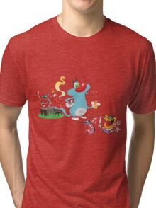 Character oggy Tri-blend T-Shirt