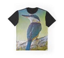 Sacred Kingfisher Graphic T-Shirt
