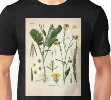 Köhler's Medizinal Pflanzen in naturgetreuen Abbildungen mit kurz erläuterndem Texte  Atlas zur Pharmacopoea 1883 1914 V1 014 Brassica Nigra Koch Unisex T-Shirt