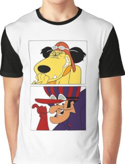 Dastardly & Muttley In Their Flying Machines Cool Stuff Graphic T-Shirt